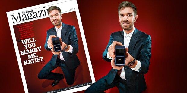 Irre! Heiratsantrag auf Magazin-Cover