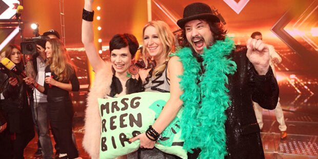 """Mrs. Greenbird"" gewinnt X-Factor"