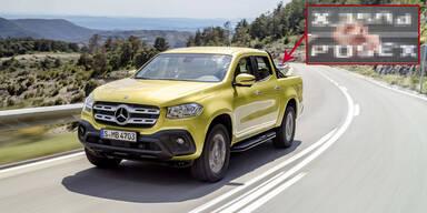 """""""Po-Sex"""" - Mega-Panne bei neuem Mercedes Pick-up"""