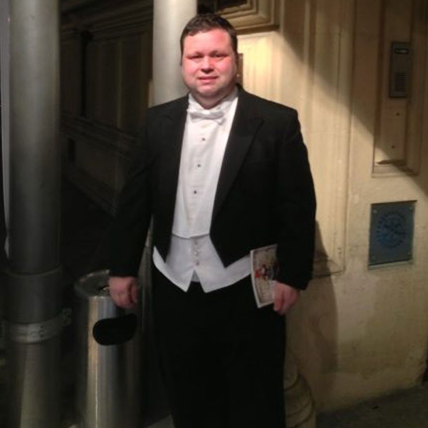 Paul Potts: Bereit für den Opernball