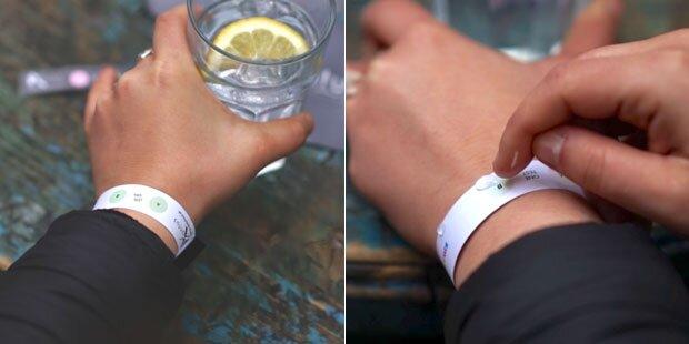 Geniales Armband zeigt K.-o.-Tropfen an