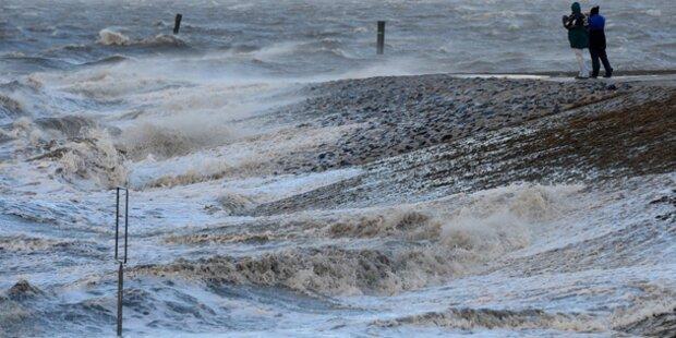 Xaver: Unwetter-Warnungen aufgehoben