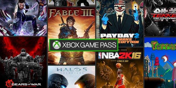Jetzt startet der Xbox Game Pass