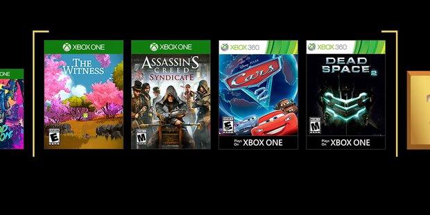 Neue Gratis-Xbox-Games with Gold sind da