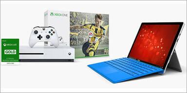 Gratis Xbox One S für Surface Pro 4 Käufer