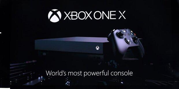 Neue Xbox One X