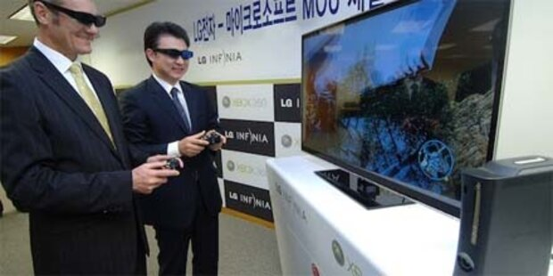 Microsofts Xbox 360 wird 3D-fähig