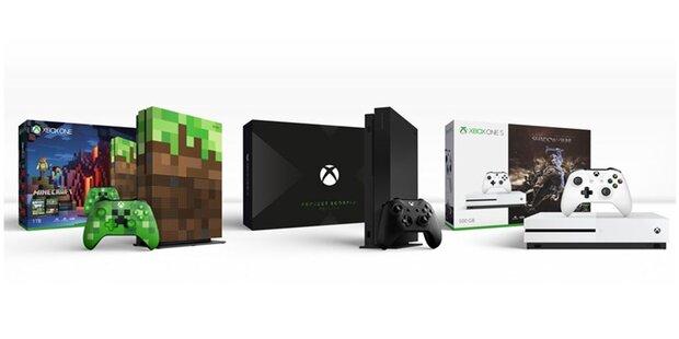Xbox One X zeigt wahre 4K Muskelkraft
