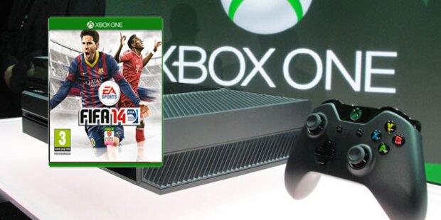 FIFA 14 für Xbox One-Käufer gratis