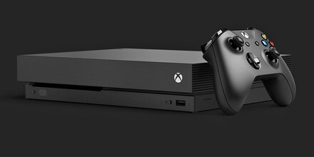 Xbox One X im Games24 Check