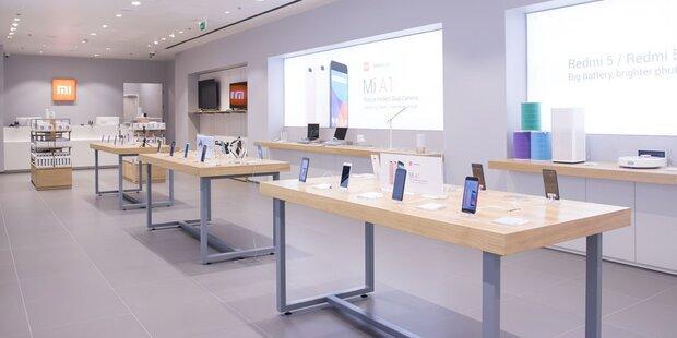 Das ist der erste Xiaomi-Store in Österreich
