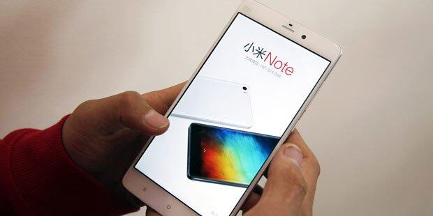 Xiaomi zog an Samsung vorbei