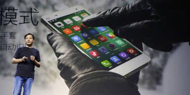 Smartphones: Xiaomi ist Nummer 3