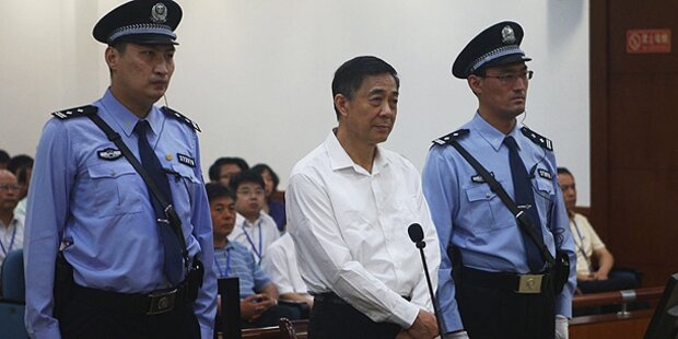 Ex-Politstar Bo Xilai vor Gericht
