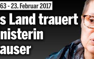 Sabine Oberhauser: Ganzes Land trauert um sympathische Kämpferin