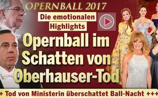 Zwischen Glanz & Trauer: Opernball im Schatten von Oberhauser-Tod