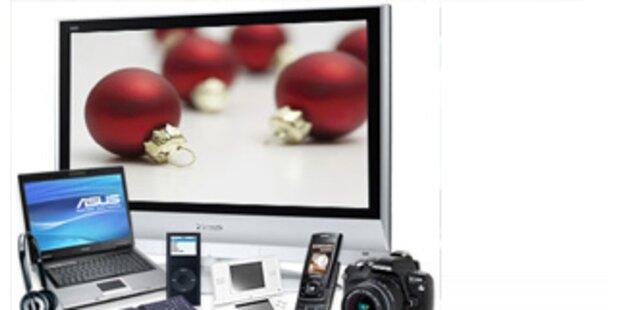 Die Technik-Trends zu Weihnachten