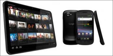 Xoom & Nexus S für Android-Entwickler