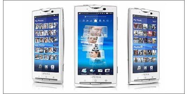Sony Ericsson Xperia X10 mit Android
