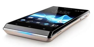 Sony Xperia J im großen oe24.at-Test