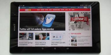 Sonys neuer iPad mini 3 Gegner im Test