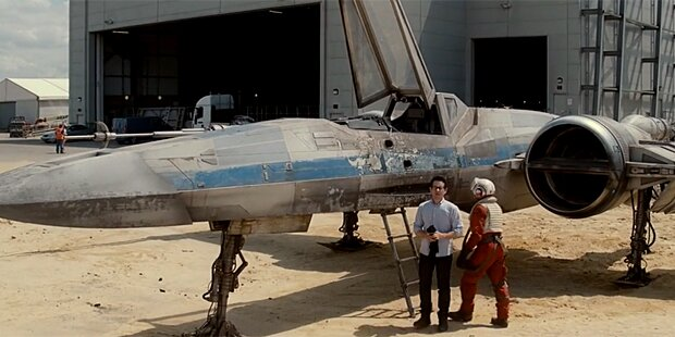 Star Wars: Abrams zeigt X-Wing