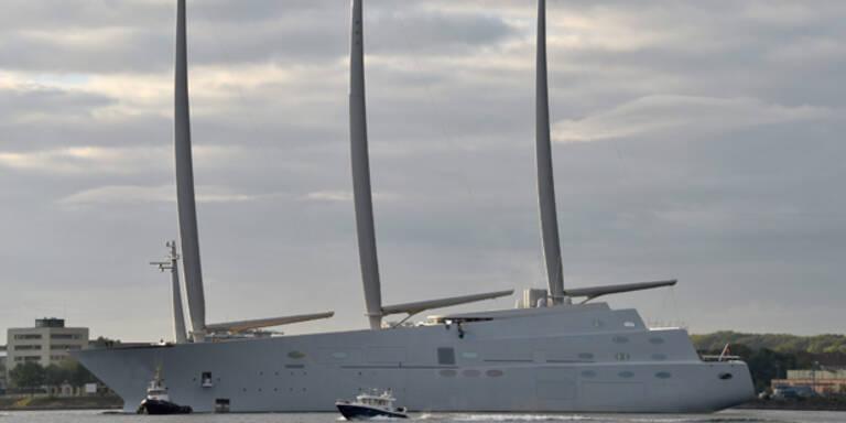 Milliardär baut 360 Mio Euro-Jacht