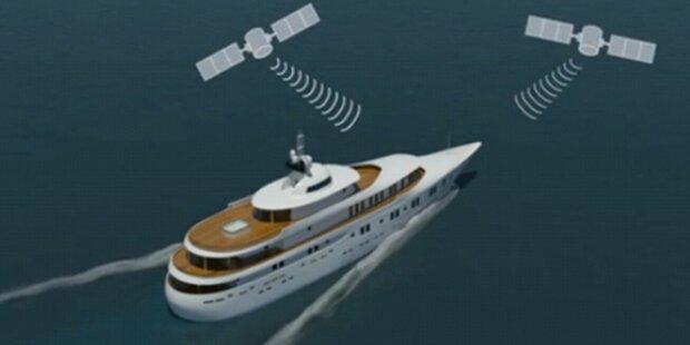 Studenten entführen 50 Millionen-Yacht