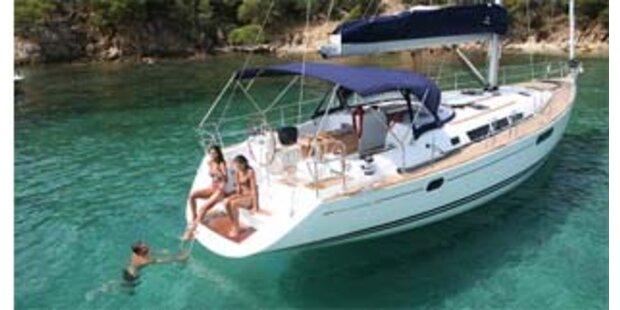 Eine Yacht um 22,50 Euro ersteigert