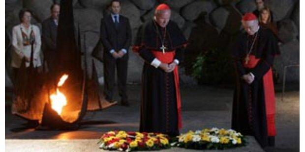 Schönborn besucht Holocaust-Gedenkstätte in Israel