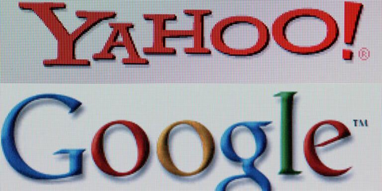 Yahoo überholt Google bei Internetnutzern
