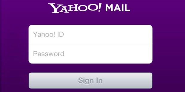 Massive Probleme für Yahoos E-Mail-Kunden