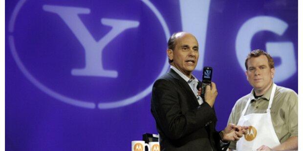 Yahoo setzt verstärkt auf Handymarkt