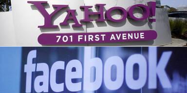Yahoo legt im Streit mit Facebook nach