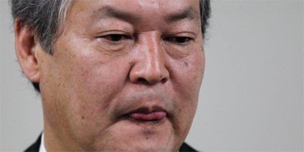 Japanischer Justizminister tritt zurück