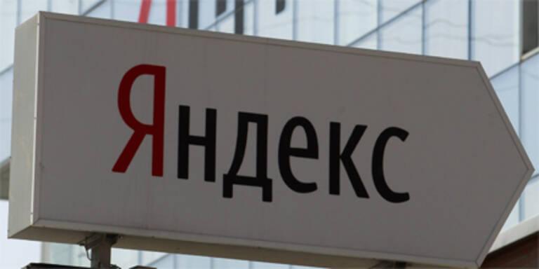 Yandex erzielt bei Börsengang 1,3 Mrd