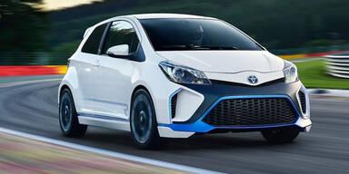 Toyota Yaris Hybrid-R Concept mit 420 PS