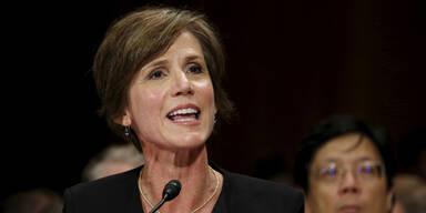 """Verrat"": Trump feuert Justizministerin"