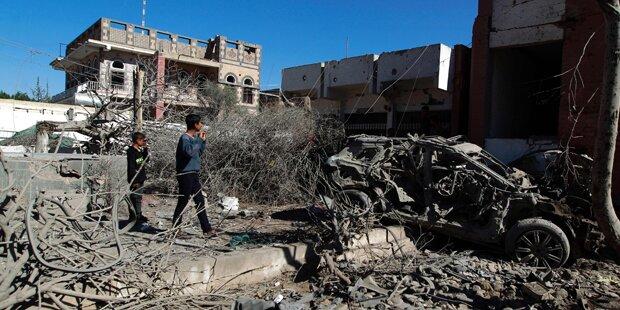 Luftangriff auf Markt im Jemen: 40 Tote
