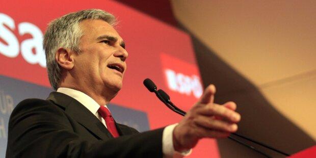 SPÖ hält trotz Verlusten Platz 1