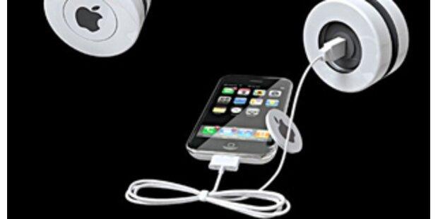 Mit dem Yo-Yo das iPhone aufladen
