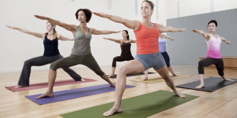 Yoga baut Muskeln auf und Fett ab