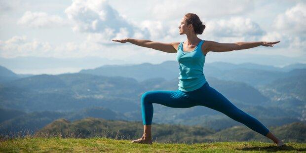 So nehmen Sie mit Yoga ab