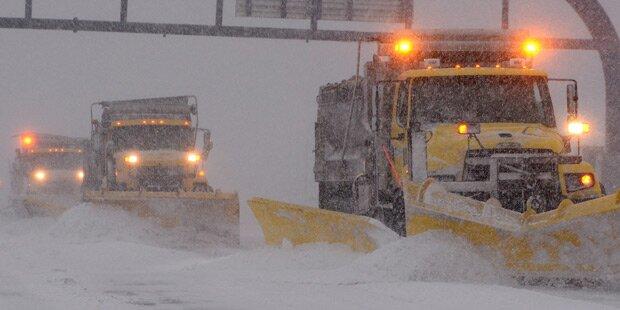 Blizzard trifft Boston voll