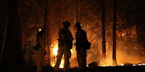 Waldbrand wütet nahe Yosemite-Park