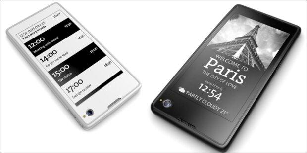 Androide mit zwei Displays startet bei uns