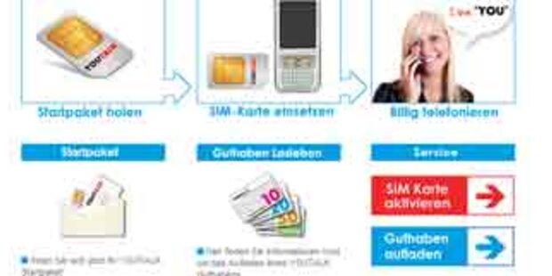 Neuer Handybetreiber YouMobile gestartet