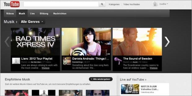 Youtube verbietet MP3-Umwandlung von Videos