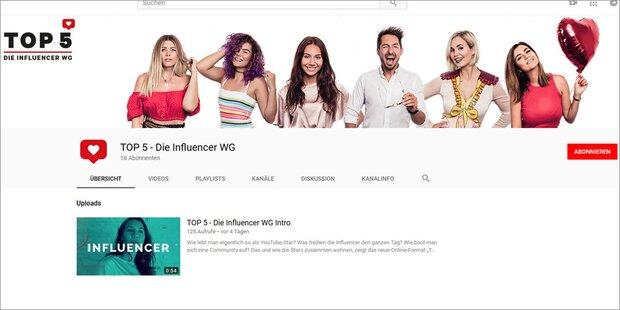 Österreichs Youtube-Stars ab sofort in WG