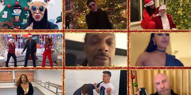 Xmas-Video: Stars feiern Weihnachtsklassiker von Mariah Carey
